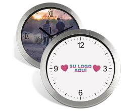 Foto Reloj Pared Metálico